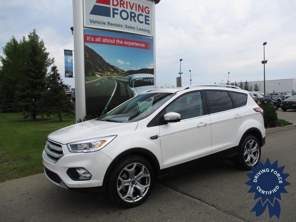 Click Here To View 2017 Ford Escape Titanium - 133425