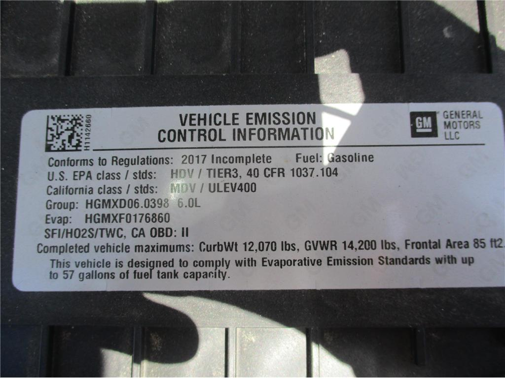 2017 GMC Savana Commercial Cutaway  - 136046