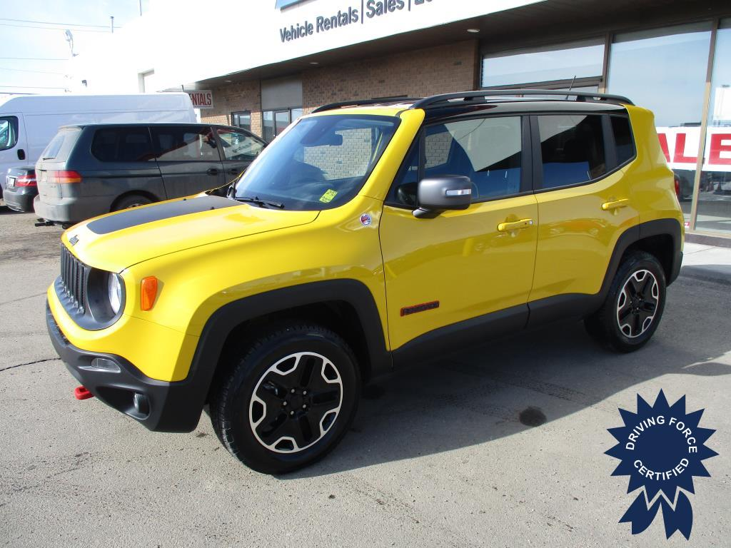 Click Here To View 2017 Jeep Renegade Trailhawk - 136883
