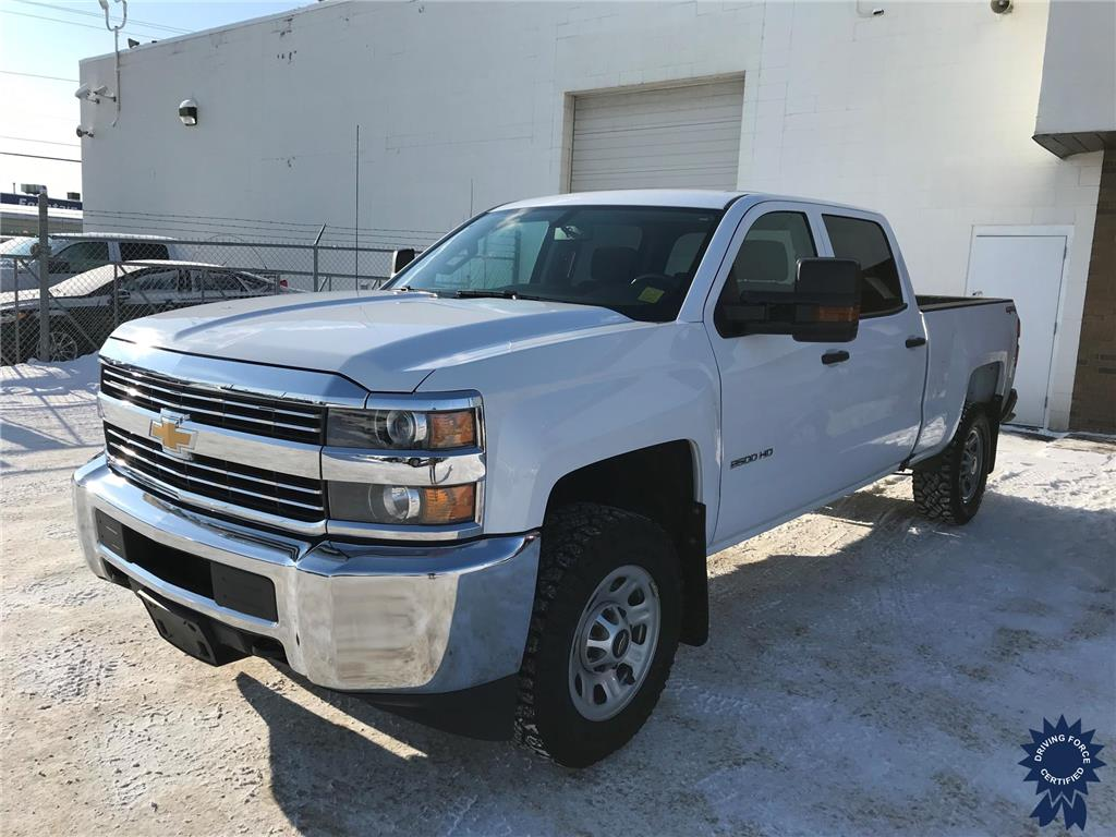 Click Here To View 2018 Chevrolet Silverado 2500HD Work Truck - 147429