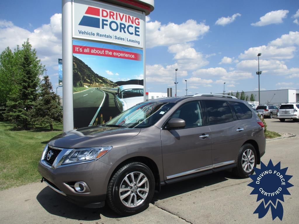 Click Here To View 2014 Nissan Pathfinder SL - 151237